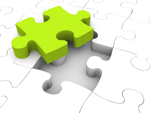 Take your existing knowledge, find the missing pieces and complete the picture